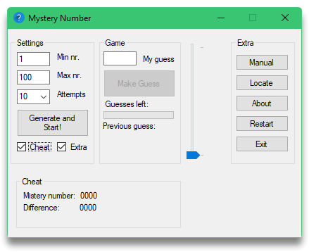 Mystery number preview